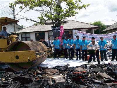Bt49m in counterfeit goods destroyed in Phuket | The Thaiger