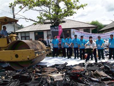 Bt49m in counterfeit goods destroyed in Phuket | The Thaiger