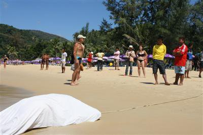 Tourist found dead off Phuket beach | The Thaiger