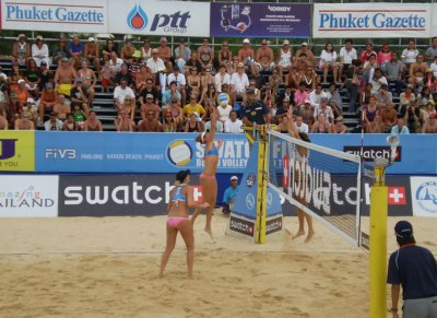 Beach volleyball bounces back to Phuket | The Thaiger