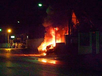 Hit-and-run, crash-and-burn in Phuket | The Thaiger