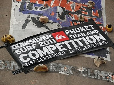 Quiksilver surf competition underway in Phuket | The Thaiger