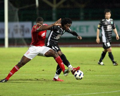 FC Phuket douse PTT Rayong | The Thaiger