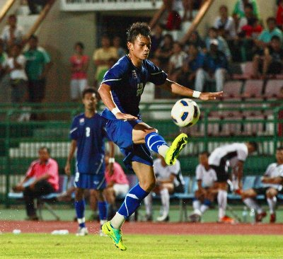 Thailand U23 outshine Phuket All Stars | Thaiger