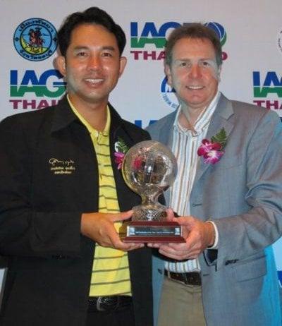 PHUKET GOLF: Pattaya pips Phuket for major award | The Thaiger