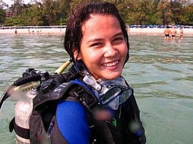 Thai teen makes a splash in Phuket dive community | The Thaiger