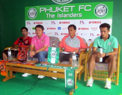 Phuket FC ready for showdown with Ratchaburi | The Thaiger