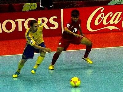 Futsal World Cup: Thailand falls to Ukraine | The Thaiger