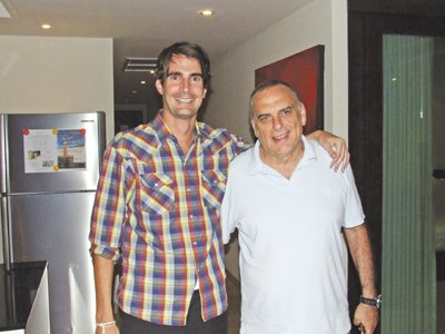 Phuket Sports: Avram grants an audience | The Thaiger