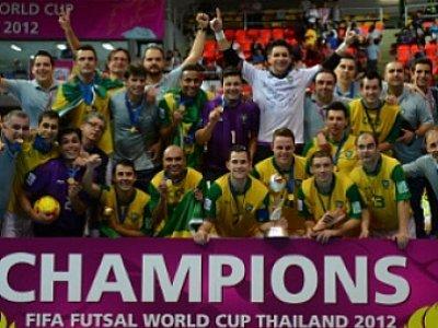 Phuket Sports: Brazil top futsal world rankings after winning fifth title | The Thaiger