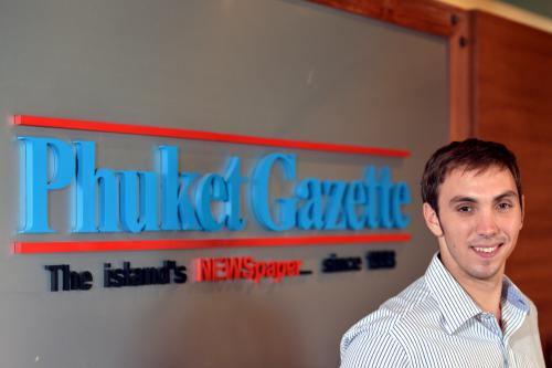 Phuket Gazette appoints new Managing Editor | The Thaiger