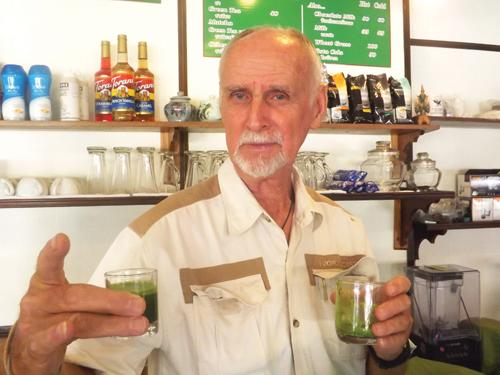A glass of wheatgrass if you please   The Thaiger