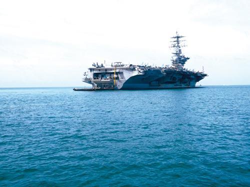 Phuket Life: Smooth sailing on the USS Nimitz [VIDEO] | Thaiger