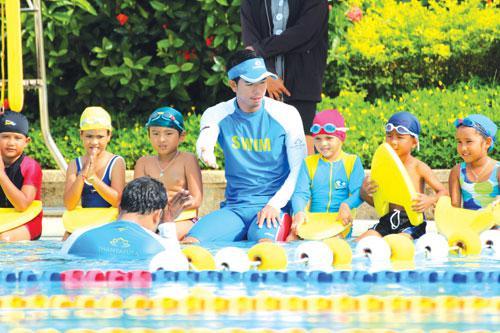 Swimming skills for life surface at Phuket's Thanyapura | The Thaiger