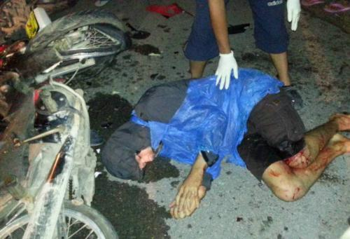 Alleged Phuket ghost rider in motorbike crash with foreigners | The Thaiger