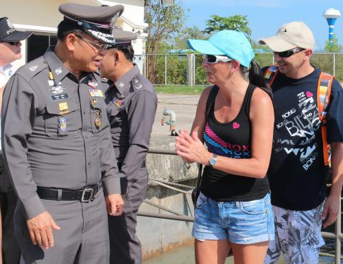 In wake of Pattaya ferry disaster, top brass stages safety tour in Phuket | The Thaiger