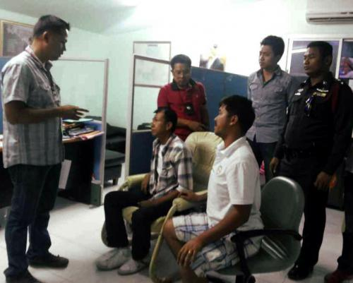 Phuket officers take down taxi drivers for intimidation | The Thaiger