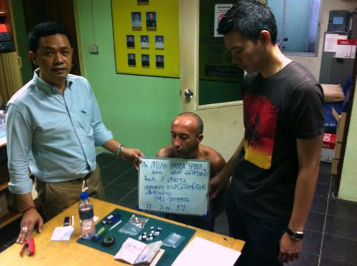 Italian busted for drug dealing in Phuket | The Thaiger