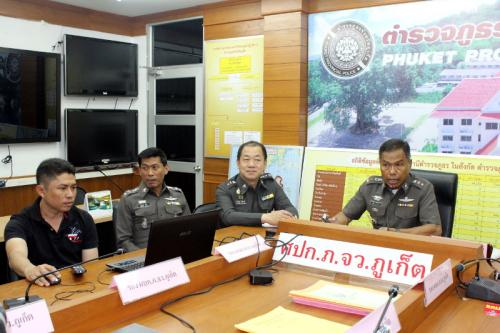 Phuket Police post YouTube video of gold shop suspect, unmasked | The Thaiger