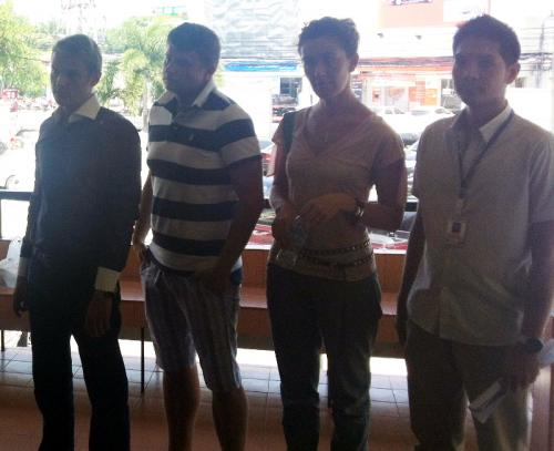 Officers arrest six foreigners for working illegally in Phuket | The Thaiger