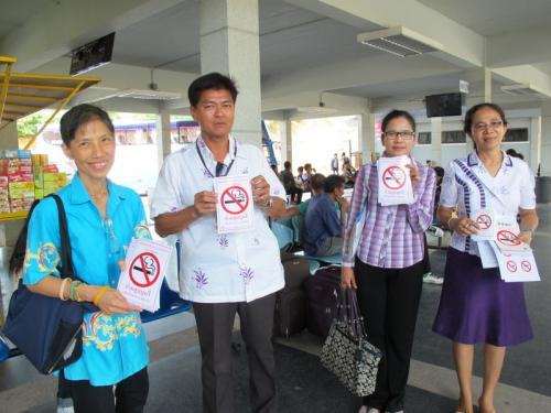 Bangkok officers in Phuket to stamp out public butts | The Thaiger