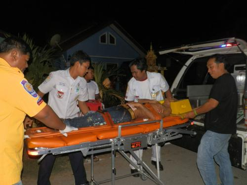 Wife missing after husband found stabbed | Thaiger