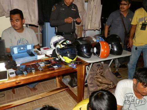 Phuket loan shark, henchmen netted in raid   The Thaiger