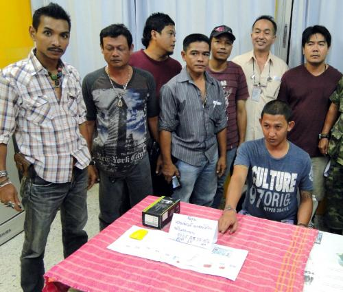 "Phuket Police bust man with ""Million-baht meth foot' 