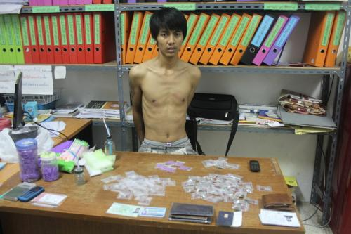 Busted: Alleged drug dealer's operation across from Phuket school | The Thaiger