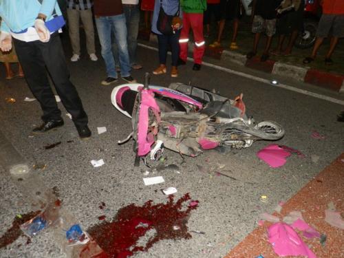 Phuket teen motorbike rider survives slam into juggernaut   The Thaiger