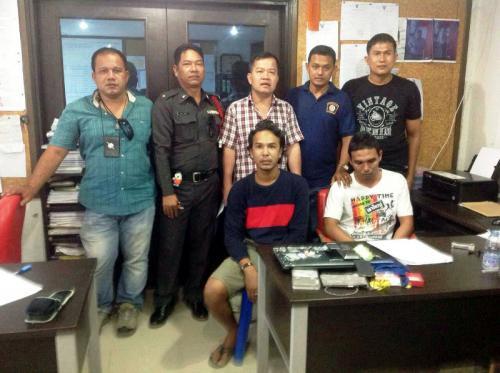 Brothers arrested for hotel room drug depot shopfront   The Thaiger
