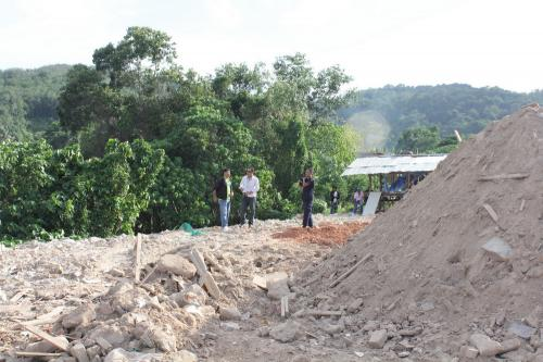 Phuket officials seize machinery, halt construction at protected mangroves site | The Thaiger