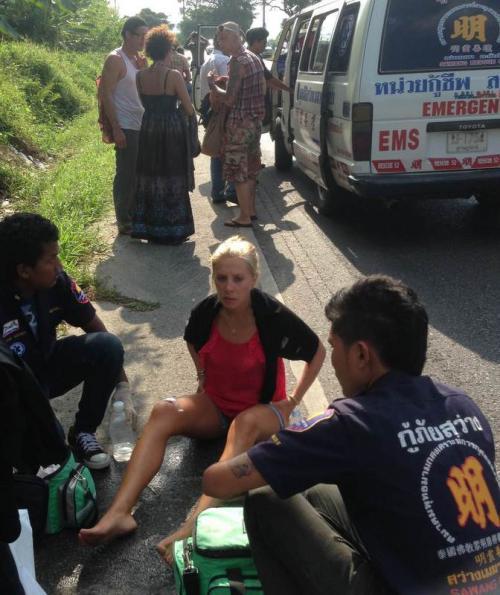 Phuket-Ranong visa-run van flips three times in Phang Nga | Thaiger