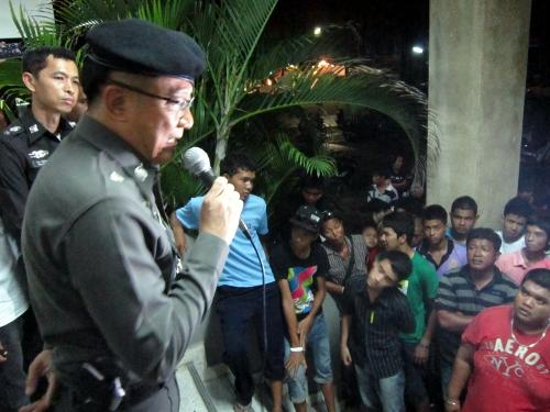 Phuket villagers demand pistol whipping police officer be transferred | Thaiger