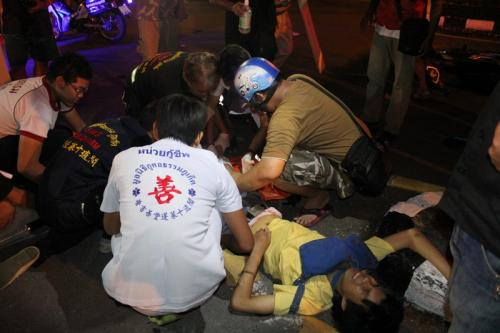 Police suspect Chevy driver in Phuket hit-and-run | The Thaiger