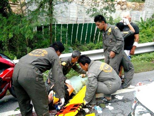 French tourists in Phuket struck by falling tree   Thaiger