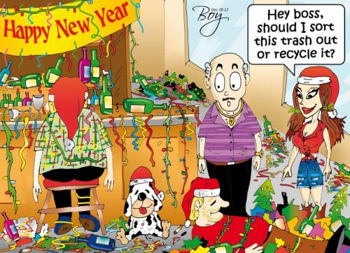 Phuket Opinion: Trash the past for the New Year | The Thaiger