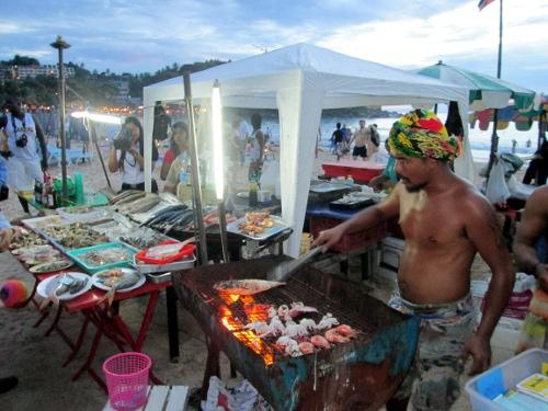 Karon Mayor: Phuket seafood vendors will be charged with beach encroachment | Thaiger