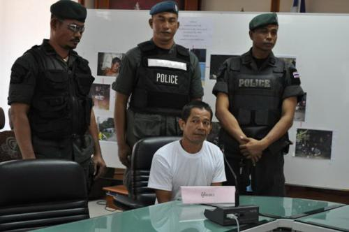 Triple homicide prime suspect caught at Phuket visa run pier | The Thaiger