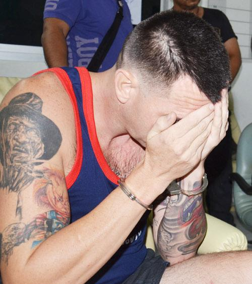"""Phuket Police search for drive-by target """"Dannie' Knudsen   Thaiger"""
