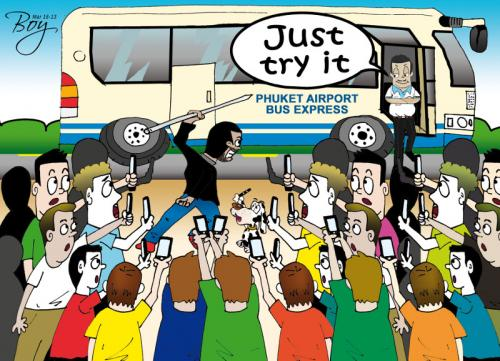 Phuket Opinion: Get on the bus | The Thaiger