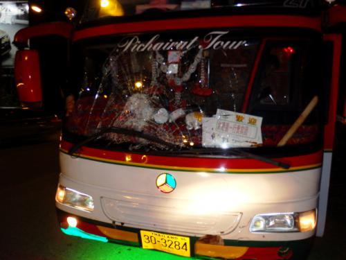 9fb318fca3 Phuket tour bus driver flees the scene after killing pedestrian ...