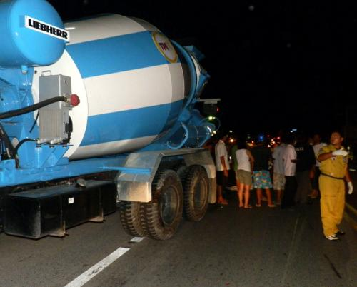 Phuket concrete-mixing truck kills 5-year-old boy | The Thaiger