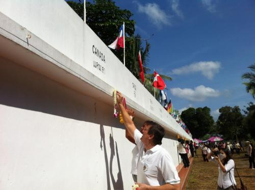 """Tsunami memorial morning service draws """"handful of foreigners' 