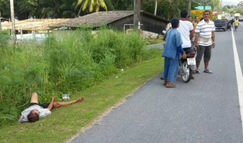 Helmetless sidecar driver dies after big bike wipeout | The Thaiger