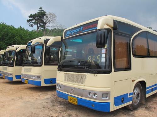 New Phuket buses ready to run the gauntlet | The Thaiger