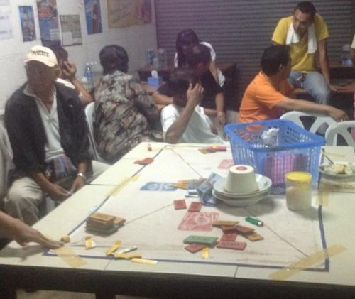 Phuket Town gamblers luck out: 22 arrested | The Thaiger