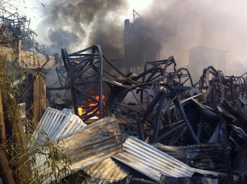 Phuket SuperCheap Inferno: Search for victims delayed as fire continues [VIDEO] | Thaiger