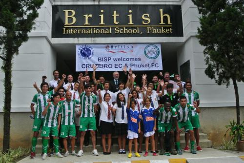 Phuket – BISP – Cruzeiro football academy announced   The Thaiger