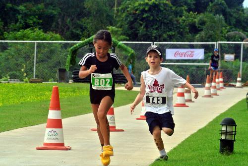 Phuket Sport: Inaugural Thanyapura Junior Challenge triathlon winners | The Thaiger